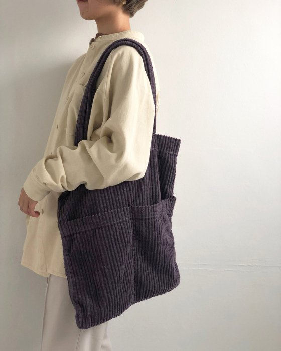TODAYFUL トゥデイフル Corduroy Tote Bag 11921062 【19AW2】【新作】
