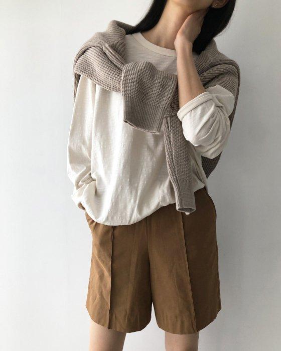 TODAYFUL トゥデイフル Organic Cotton Long T-Shirts 12010601 【20SS1】【先行予約】【クレジット限定 納期20年1月〜2月頃予定】