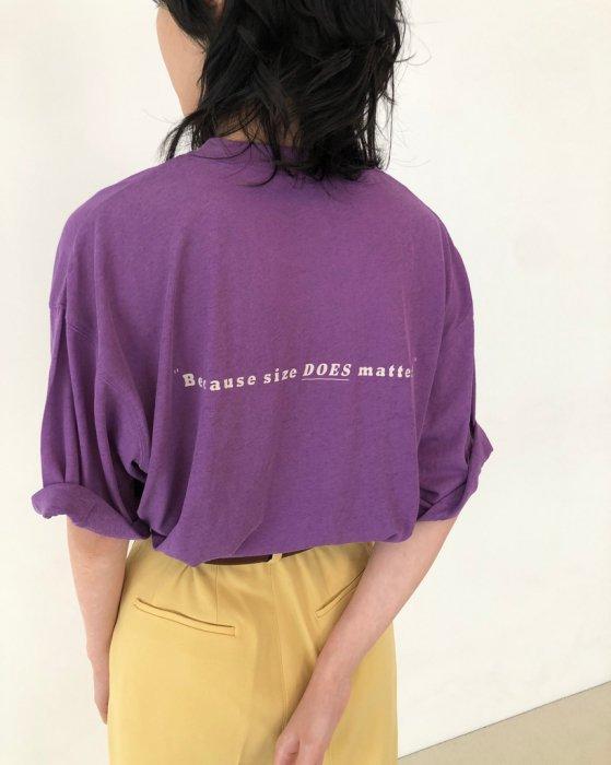 TODAYFUL トゥデイフル Back Print T-Shirts 12010613 【20SS1】【先行予約】【クレジット限定 納期20年2月〜3月頃予定】