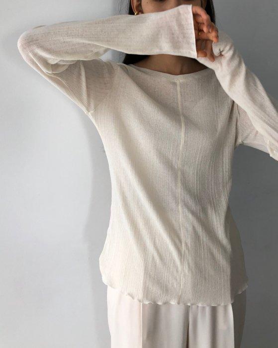 TODAYFUL トゥデイフル Randomrib Long T-Shirts 12010620 【20SS1】【新作】