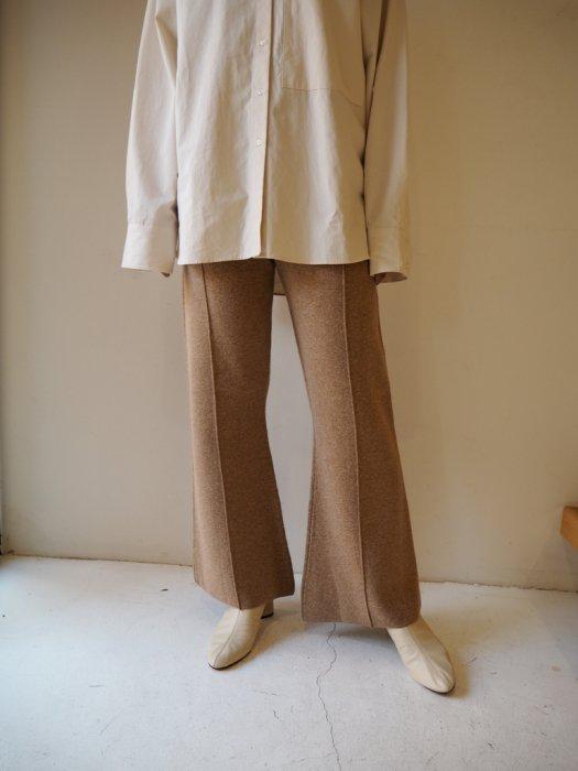 TODAYFUL トゥデイフル Doubleface Knit Pants 12010715 【20SS1】【先行予約】【クレジット限定 納期20年1月〜2月頃予定】