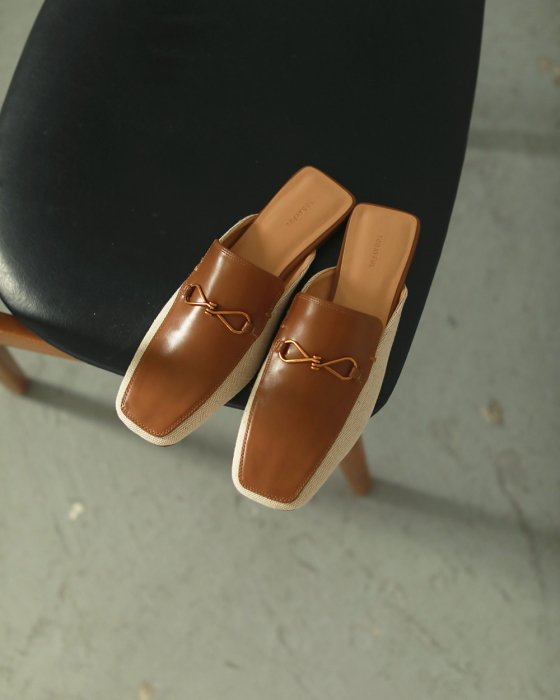 TODAYFUL トゥデイフル Canvas Loafer Slippers 12011018 【20SS1】【新作】