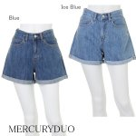 MERCURY マーキュリー 【BIJ】 ハーフデニムショートパンツ 001510700201 【15SS】【SALE】【70%OFF】<img class='new_mark_img2' src='https://img.shop-pro.jp/img/new/icons20.gif' style='border:none;display:inline;margin:0px;padding:0px;width:auto;' />