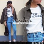 【SOLDOUT】TODAYFUL トゥデイフル ROY's Tee 11710615 【17SS1】【20☆】