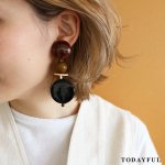 TODAYFUL トゥデイフル Marble Parts Earring 11720923 【17AW1】【新作】<img class='new_mark_img2' src='https://img.shop-pro.jp/img/new/icons11.gif' style='border:none;display:inline;margin:0px;padding:0px;width:auto;' />