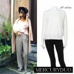MERCURY マーキュリー 【DUO】 RN BASIC Vネックニット 001530501901 【15AW1】【SALE】【70%OFF】<img class='new_mark_img2' src='https://img.shop-pro.jp/img/new/icons20.gif' style='border:none;display:inline;margin:0px;padding:0px;width:auto;' />