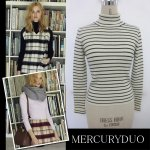 MERCURY マーキュリー 【DUO】 リブタートル袖折り返しニット 001540500101 【15AW2】【SALE】【70%OFF】<img class='new_mark_img2' src='https://img.shop-pro.jp/img/new/icons20.gif' style='border:none;display:inline;margin:0px;padding:0px;width:auto;' />