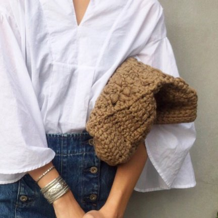 TODAYFUL トゥデイフル Patchwork Knit Clutch クラッチバッグ11611015 【16SS1】【SALE】【70%OFF】