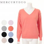 MERCURY マーキュリー 【BSC】 ベーシックVネックニット 001610500801 【16SS1】【SALE】【70%OFF】<img class='new_mark_img2' src='https://img.shop-pro.jp/img/new/icons20.gif' style='border:none;display:inline;margin:0px;padding:0px;width:auto;' />