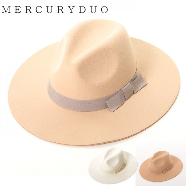 MERCURY マーキュリー 【GDS】 カラーリボンハット 001611000101 【16SS1】【SALE】【70%OFF】