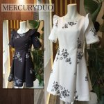 MERCURY マーキュリー 【DUO】ワンカラーフラワーフリルワンピース 001610303201 【16SS1】【SALE】【70%OFF】<img class='new_mark_img2' src='https://img.shop-pro.jp/img/new/icons20.gif' style='border:none;display:inline;margin:0px;padding:0px;width:auto;' />