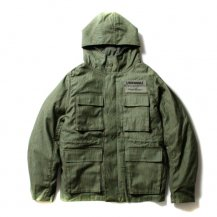 <img class='new_mark_img1' src='//img.shop-pro.jp/img/new/icons21.gif' style='border:none;display:inline;margin:0px;padding:0px;width:auto;' />PAWN 【パウン】MILITARY HOODED JACKET (ミリタリージャケット)