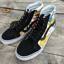 <img class='new_mark_img1' src='https://img.shop-pro.jp/img/new/icons14.gif' style='border:none;display:inline;margin:0px;padding:0px;width:auto;' />VANS 【バンズ】 SK8-HI REISSUE スケートハイ リイシュー (Disney)Mickey&Friends/BK ディズニー ミッキー & フレンズ