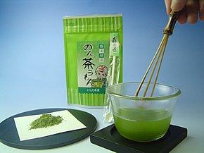 """料理にも焼酎割りにも使える「のん茶""""(ぢゃ)うもん(粉末煎茶)」50g袋入 [1]"""