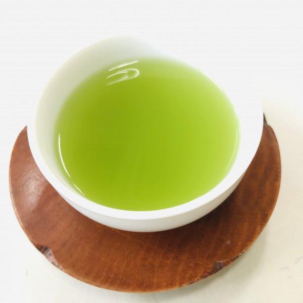 玄米の香ばしい香りがおいしい「抹茶入玄米茶」200g袋入 [2]