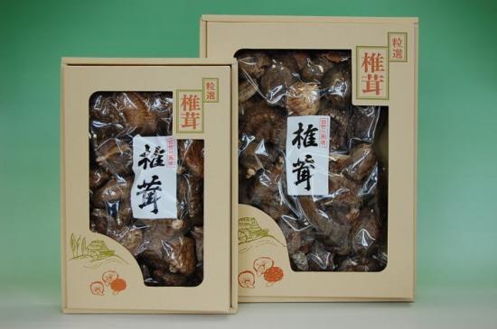 森の椎茸(しいたけ)150g箱入 [1]