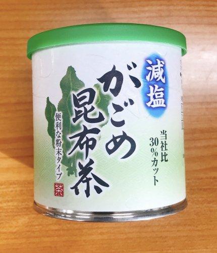減塩がごめこんぶ茶・減塩しいたけ茶 [1]