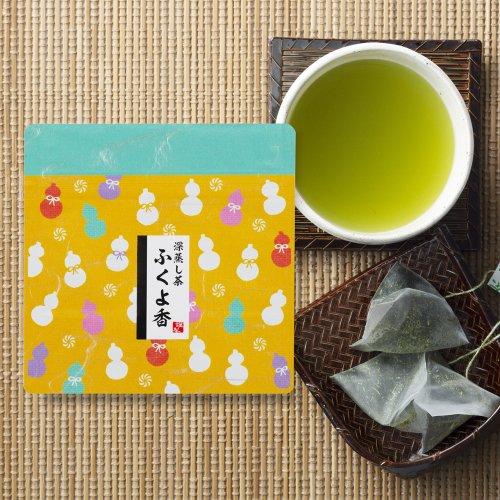 【和チャックシリーズ】 森の深蒸し茶「ふくよ香」 ティーバッグ 11個入り [1]