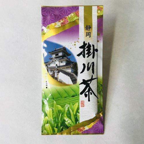 掛川茶の深蒸し茶100g袋入 [1]