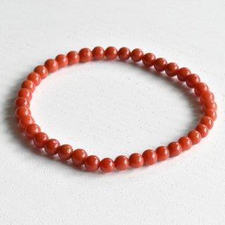 天然血赤珊瑚ブレス C