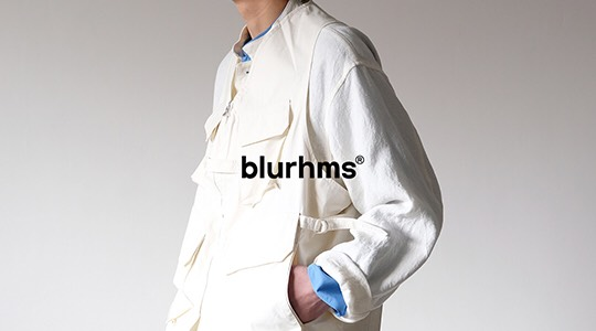 blurhms|ブラームス 21SS Collection