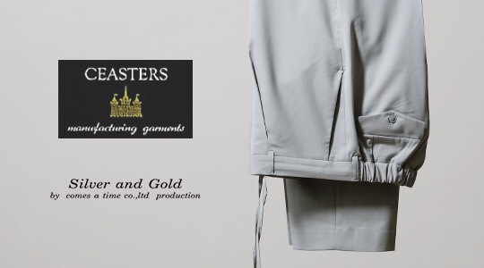 CEASTERS 1P TROUSERS_V5 #Ref.739 Grey(Lt.Green) [MR21-S02]