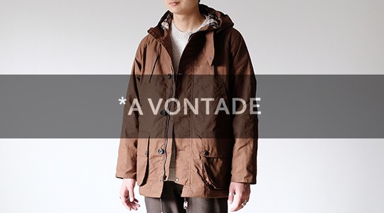 A VONTADE|アボンタージ PARKA & SUIT