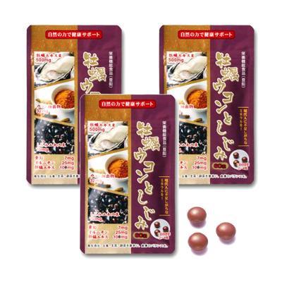 牡蠣ウコンとオルニチン(しじみ)3袋セット