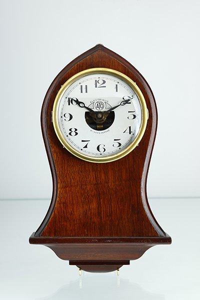 アールデコ期 1920年代 ATO社ミニチュアクロック 壁掛け時計 電池駆動 フランス 希少