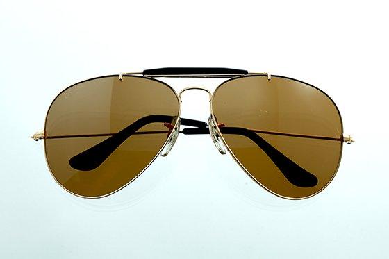 Ray-Ban アビエイター 1970年代 ボシュロム社製 65mm ゴールド×ブラウン sun-r04