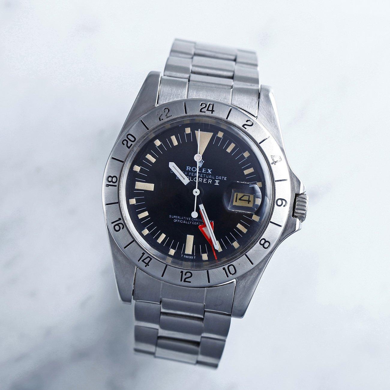 watch f9d19 89863 1973年 ロレックス エクスプローラーⅡ Ref.1655 初期型 ダブルロックブレス - アンティーク&オールディーズ オンラインストア