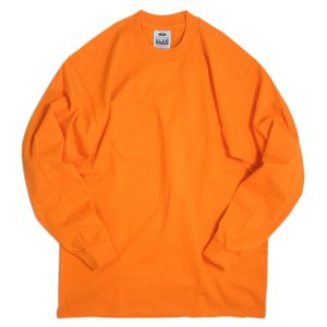 【PRO CLUB プロクラブ】 LONG T-SHIRT(ORANGE)