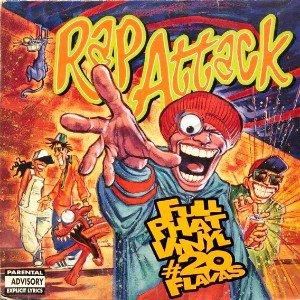 V.A. - RAP ATTACK (FULL PHAT VINYL # 20 FLAVAS) (LP) (VG/VG)