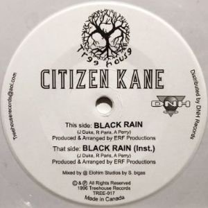CITIZEN KANE - BLACK RAIN (7) (WHITE) (NEW)