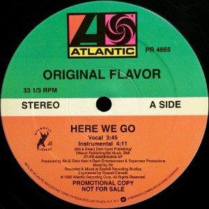ORIGINAL FLAVOR - HERE WE GO (12) (PROMO) (VG+)