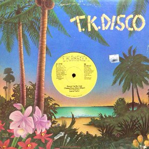 LAURA TAYLOR - DANCIN' IN MY FEET (THEME FROM DISCO MAGIC) (12) (EX/VG+)