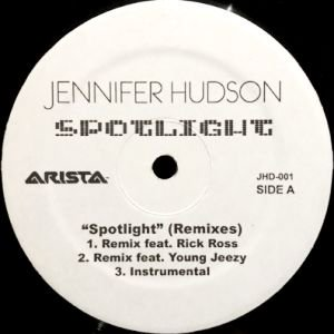 JENNIFER HUDSON - SPOTLIGHT (REMIX) (12) (VG+/--)