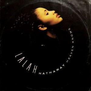 LALAH HATHAWAY - HEAVEN KNOWS (12) (UK) (VG/VG)