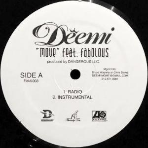 DEEMI feat. FABOLOUS - MOVE (12) (VG+)