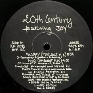 20TH CENTURY feat. JOY - HAPPY (12) (VG+)