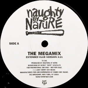 NAUGHTY BY NATURE - THE MEGAMIX (12) (PROMO) (VG+)