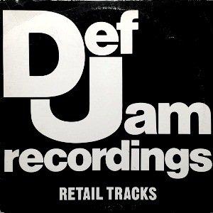 V.A. - DEF JAM RECORDINGS RETAIL TRACKS (LP) (VG+/VG)