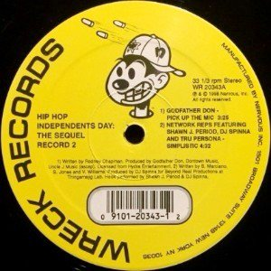 V.A. - HIP HOP INDEPENDENTS DAY: THE SEQUEL (RECORD 2) (12) (VG+/VG+)