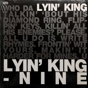 NINE - LYIN' KING / INDUSTRY PARTY (12) (VG+/EX)