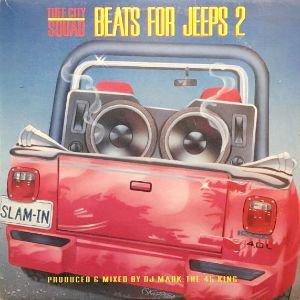 TUFF CITY SQUAD - BEATS FOR JEEPS 2 (LP) (EX/VG+)