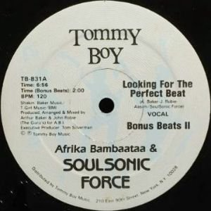 AFRIKA BAMBAATAA & SOUL SONIC FORCE - LOOKING FOR THE PERFECT BEAT (12) (VG/VG+)