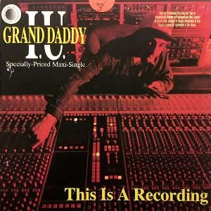 GRAND DADDY I.U. - THIS IS A RECORDING (12) (EX/VG+)