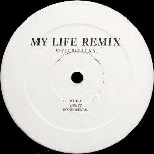 KOOL G RAP & C.N.N. / KOOL G RAP, SNOOP, DEVIN THE DUDE - MY LIFE (REMIX) / KEEP GOING (12) (VG+)