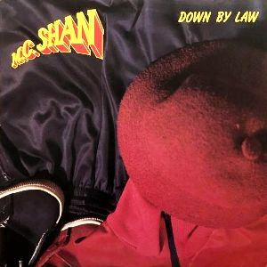 M.C. SHAN - DOWN BY LAW (LP) (EX/VG+)