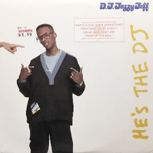 D.J. JAZZY JEFF & THE FRESH PRINCE - HE'S THE DJ, I'M THE RAPPER (LP) (VG+/VG+)